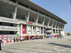 関東学生陸上競技対校選手権大会の応援に行ってきました。